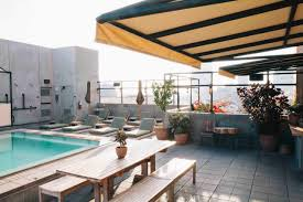 Best Rooftop Bars In Los Angeles: 8 You Must Visit | About Time Los Angeles Beverly Hills The Hilton Roof Top Bar Best Bars For Hipsters In Cbs Best Bars In La Wine Angeles And Las 24 Essential 2017 Edition Zocha Group 10 Musttry Craft Cocktail 13 Places To Drink Santa Monica Beer Garden Chicago Photo De On Decoration D Interieur Moderne Cinco Mayo Arts District Eater Open Thanksgiving 9 Sunset Strip 5 Power Lunch Spots