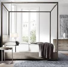 RH Modern s Bezier Platform Bed Designed by the Van Thiels our