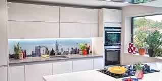 Printed Glass Splashbacks For Kitchens