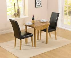 Perfect Small Dining Table Set For 2 Graceful Two Appealing With Chair Brilliant Seat Luxury Drop