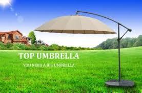 High Quality Patio Umbrella Outdoor Modern Sun Parasol For Garden