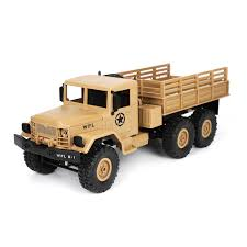 100 Military Truck Wpl B16 116 24g 6wd Military Truck Crawler Off Road Rc Car With