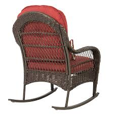 Amazon.com : Best ChoiceProducts Wicker Rocking Chair Patio Porch ... Gci Outdoor Freestyle Rocking Chair Chairs Design Ideas Outdoor Rocking Chair Set Attractive Patio Fniture Fibreglass Iron Amazoncom Bz Kd22w Wooden Chair Porch Rocker White Home Amazon Glamorous Com Polywood R100bl Klear Vu Inoutdoor Pad 205 X 19 Firepit Portable Folding Low Barton 3pcs Wicker Rattan Best Choiceproducts Traditional Style Sherwood 3 Available On Nursery Gliderz Outdoor Rocking Cushions Amazon Iloandsoldiersclub