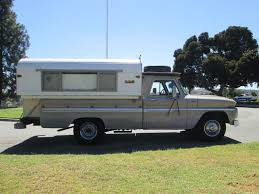 100 Alaskan Truck Camper 1965 Chevrolet C20 California Rust Free All