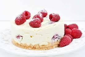 mini joghurt himbeer torte