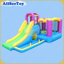 gonflable château gonflable combo diaporama et piscine à balles