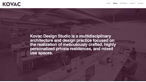 100 Michael Kovac Architect AutonomyBureau Design Studio