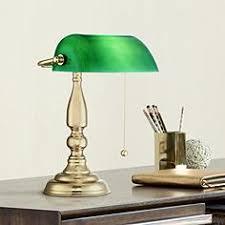 Bankers Table Lamp Green by Banker U0027s Desk Lamps U0026 Piano Lights Lamps Plus