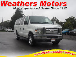 Used 2014 Ford E-350 Super Duty For Sale At Weathers Motors Inc ...