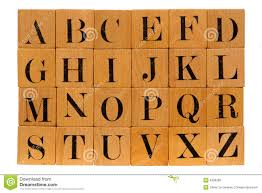 Clipart of wooden blocks with alphabet letter BBCpersian7