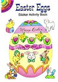 Easter Eggs Sticker Activity Book Dover Little Books Stickers