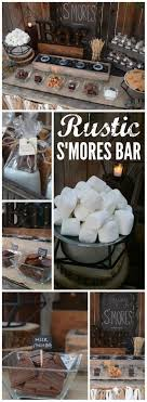 S'mores Bar / Wedding