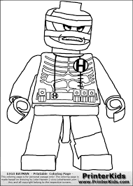 Batman Lego Coloring Pages For