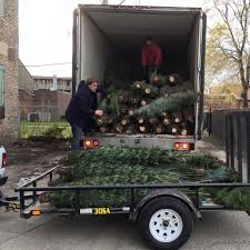 Chicago Christmas Tree Recycling 2013 by Treesanta Home Facebook