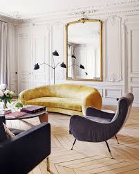 100 Elegant Apartment An In Paris With An Eye Catching Sofa