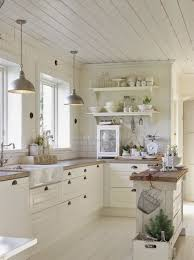 Kitchen White Farmhouse Cabinet Design