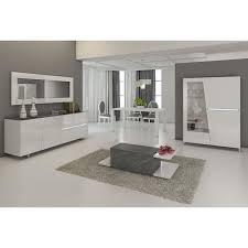 salle a manger complet salle à manger complète blanc laqué décor ardoise design joshua