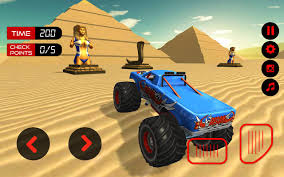 100 Racing Truck Games Monster Desert Death Race 3D Game For Android APK