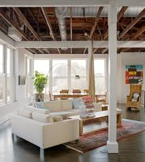 100 Exposed Ceiling Design Exposed Ceiling Living Room Industrial With Metal Standard