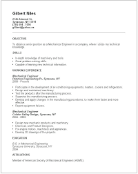 Resume Mechanical Engineer Engineering Student Fresher Pdf