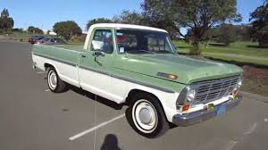 1969 Green Ford F-100 Truck Walkaround - YouTube