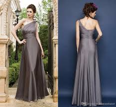 2015 fall grey plus size bridesmaid dresses one shoulder floor