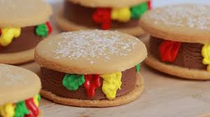 Nerdy Nummies Halloween Challenges by Cheeseburger Ice Cream Sandwiches Nerdy Nummies Youtube