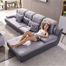 de mikewei stoff sofa kombination moderne