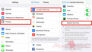 How to disable Frequent Locations tracking on iPhone