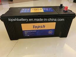 100 Heavy Duty Truck Battery China N150 MF 12V150AH China Car