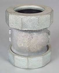galvanized compression fittings aka dresser fittings