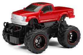 100 Rc Ford Truck New Bright RC 124 Scale Super Duty Radio Control Red