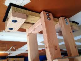 Diy Heavy Bag Ceiling Mount by Diy Speed Bag Platform That Stows When Not Being Used