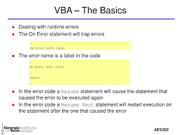 VBA - Excel VBA Is Visual Basic For Applications - Ppt Download Error Handling Techniques On Resume Next Goto Label Handling In Rxjs Kostia Palchyk Medium Free Download 51 Resume Questions 2019 Template Example Onerrorresumenext Automated Malware Analysis Report For Ach Payment Advicedoc Siglawdoc Generated Loop Vba Hudsonhsme Runpython Raises Error 70 Permission Denied Issue 821 References The Complete Guide For 10 Excel Vba Basics 16c Errors Determine If There Was An Abstract Url From Hyperlink On Next Vba Not Working