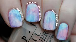 Acrylic Paint Nail Art Tumblr Design Simple
