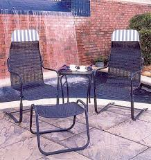 Lloyd Flanders Patio Furniture Covers by Lloyd Flanders Bay Breeze Lloyd Loom Perma Wicker Hi Back Spring