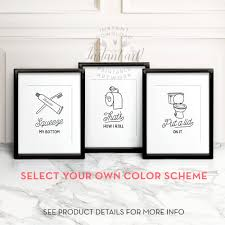 Cool Funny Bathroom Wall Decor Best Home Design Excellent To Interior Designs
