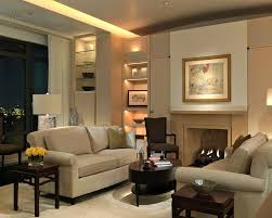 oval coffee table living room contemporary with accent lighting