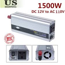1500w 12v DC To 110v AC Car Truck Automotive Power Inverter ... How To Install A Car Power Invter Youtube Autoexec Truck Super03 Desk W Power Invter And Cell Phone Mount Consumer Electronics Invters Find Offers Online Equipment Spotlight Provide Incab Electrical Loads What Is The Best For A Semi Why Its Wise Use An Generator For Your Food Out Pure Sine Wave 153000w 24v 240v Aus Plug Cheap 1000w Find Deals On Line At Alibacom Suppliers Top 10 2015 12v Review Dc To Ac 110v 1200w Car Charger Convter