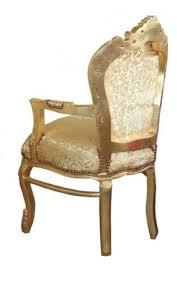 casa padrino barock esszimmer stuhl gold blumen muster gold