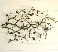 Metal Wall Art Birds Simple Branches Great In Flower Amazing Wallpaper Delicate