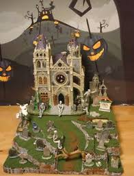 Lemax Halloween Village Displays by Halloween Display Platform Base For Dept 56 Snow Village Lemax