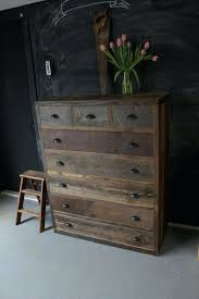 Rustic Bedroom Dresser Modern Reclaimed Barn Pallet Wood By Blue