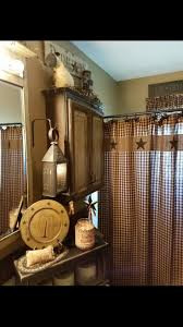 Primitive Living Room Curtains by 811 Best Primitive Bathrooms Images On Pinterest Bathroom Ideas