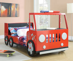 100 Kids Truck Bed Fire Rescue 460010 Coaster Furniture Bedroom