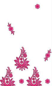Handwork Saree Daman Embroidery Design