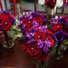 25 best Purple and Red Wedding Theme images on Pinterest