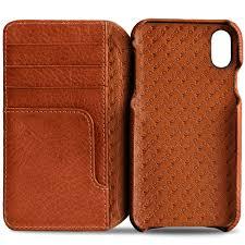 Premium iPhone X Wallet Leather Case