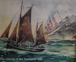 When Did Germany Sink The Lusitania by Rms Lusitania 100 Years From Now By Sammfeatblueheart On Deviantart