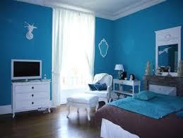 bleu chambre chambre bleu turquoise et chocolat 2 couleurs chaleureuses